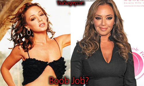 Leah remini boob think, that
