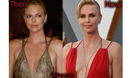 charlize theron boobs